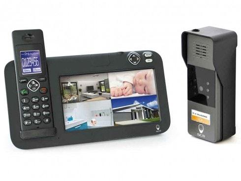 interphone sans fil audio et vidéo