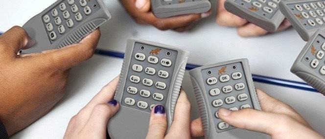 boitier interactif pour vote et évaluation